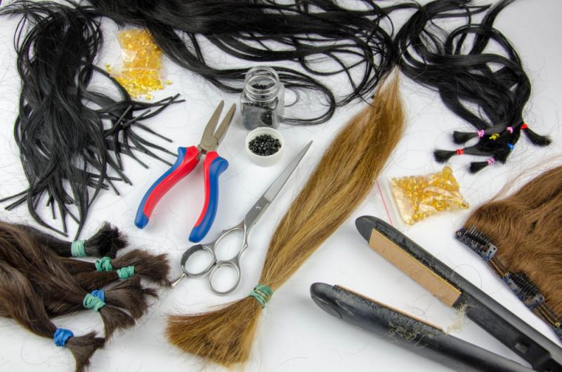Haarverlängerungs-Methoden