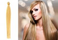 Brasilianische Tresse blond gefärbt