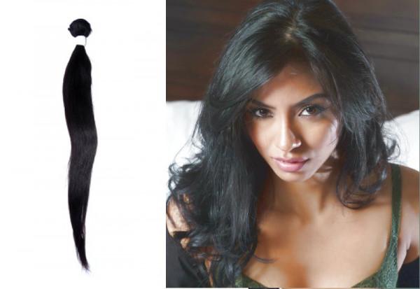 Brasilianisches Haar leicht gewellt - gewebt