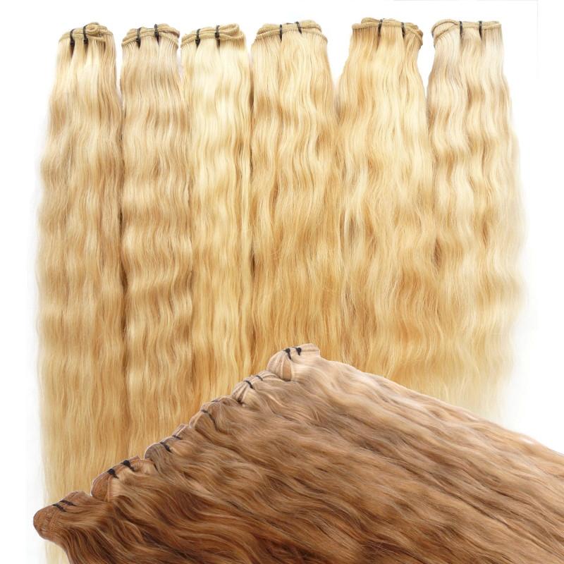 Schonend gefärbte Haare ohne Silikonschicht mit langer Tragedauer