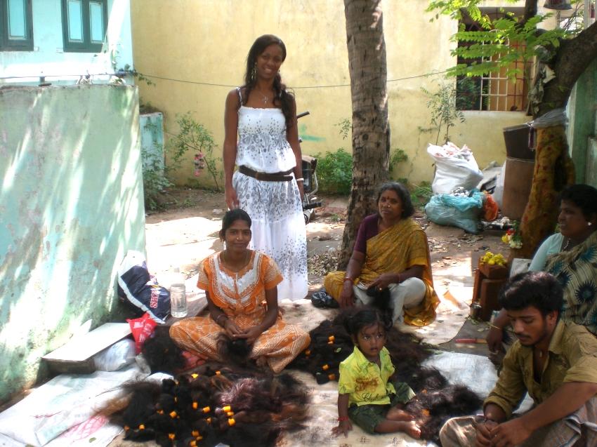 Indisches Remy Haar